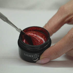 Paprika UV/LED Glitter Gel