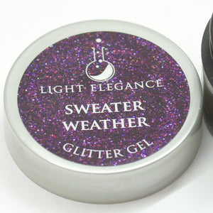 Sweater Weather UV/LED Glitter Gel