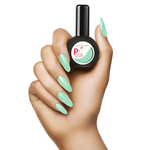 NEW P+ Cucumber Sandwich Glitter Gel Polish