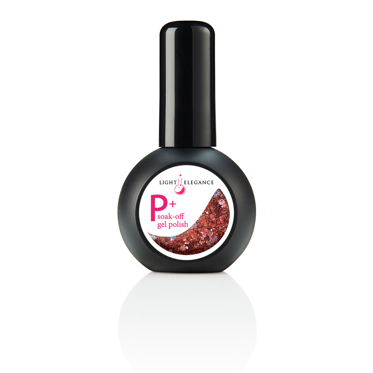 NEW P+ You Bring the Wine Glitter Gel Polish