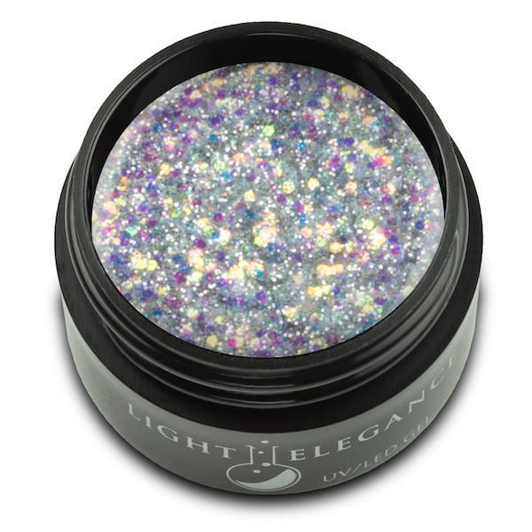 #Radiant UV/LED Glitter Gel - Light Elegance