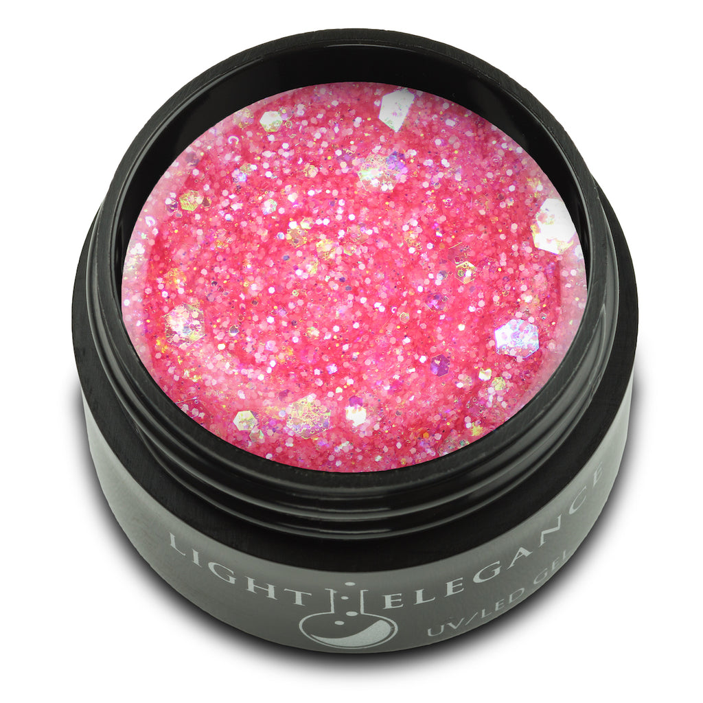 A Peony for Your Thoughts UV/LED Glitter Gel