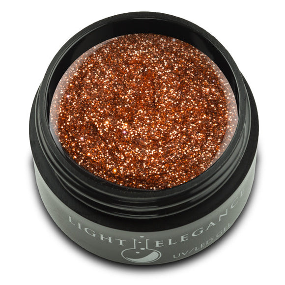 Cinnamon UV/LED Glitter Gel - Light Elegance