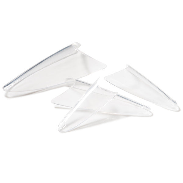 Clear Stiletto Tip Kit - Light Elegance