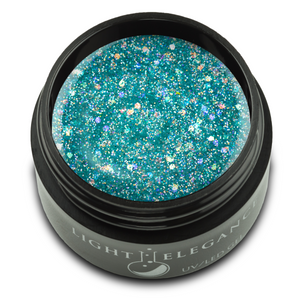 De-Ja-Blue UV/LED Glitter Gel