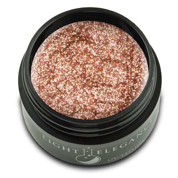 French Press UV/LED Glitter Gel - Light Elegance