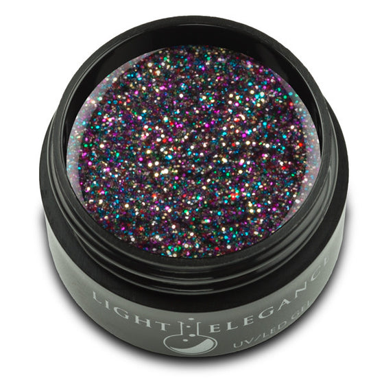 Licorice UV/LED Glitter Gel - Light Elegance  - 1