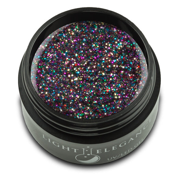 Licorice UV/LED Glitter Gel - Light Elegance