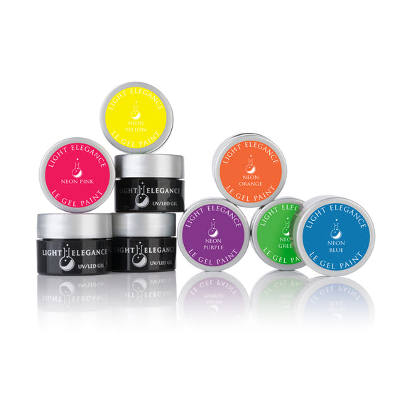 Neon LE Gel Paint Kit