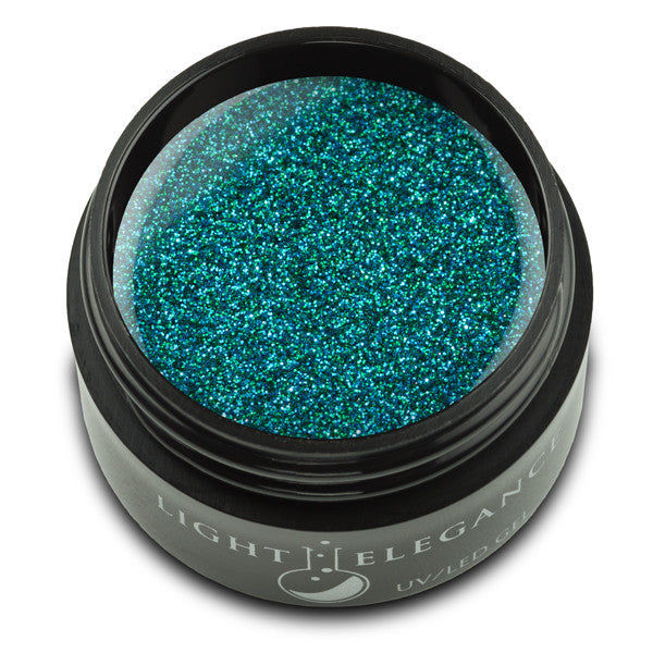 Peacock UV/LED Glitter Gel - Light Elegance