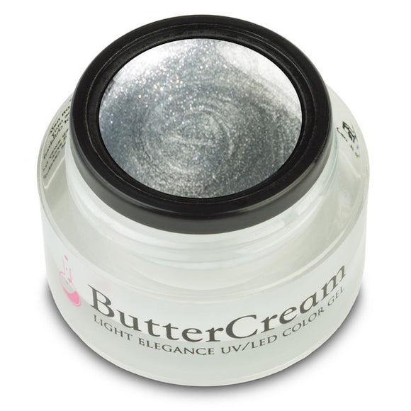 Silver Metallic ButterCream Color Gel
