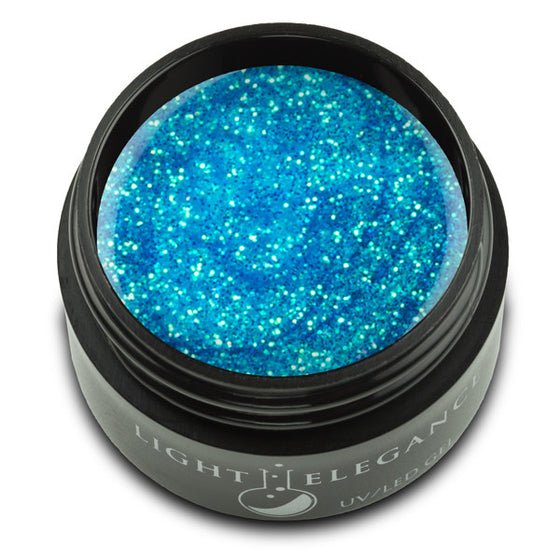 Snow Cone UV/LED Glitter Gel - Light Elegance  - 1