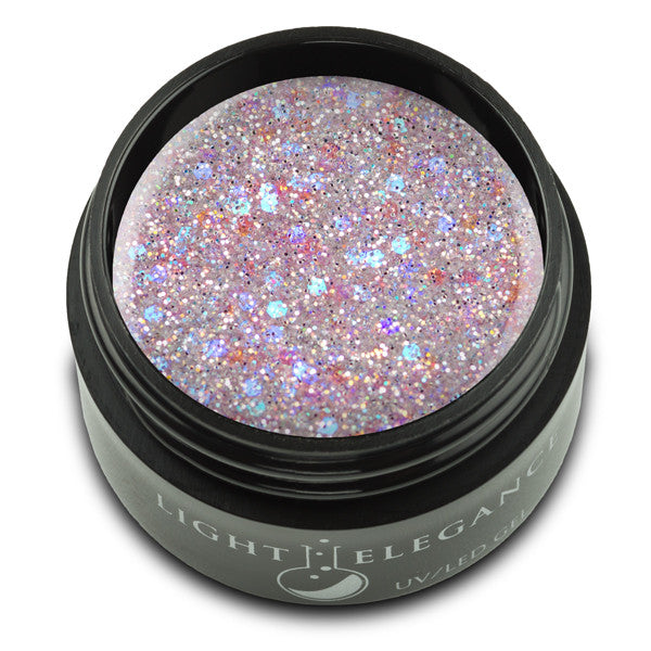 Sugar Coated UV/LED Glitter Gel - Light Elegance
