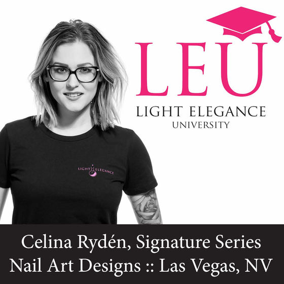 Celina Rydén, Signature Series Nail Art Designs :: Las Vegas, NV :: June 22, 2018
