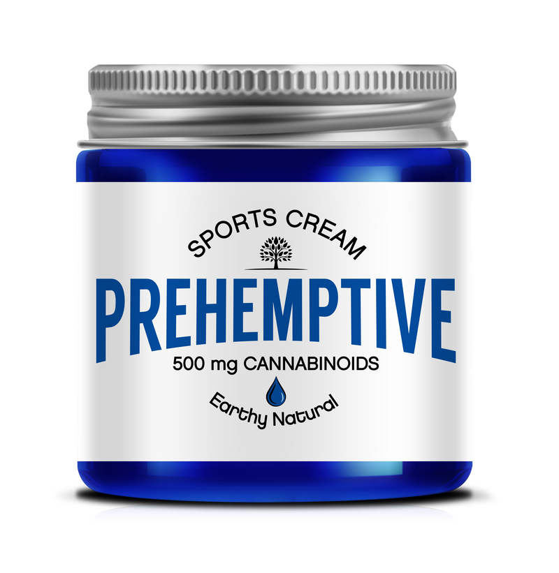 PREHEMPTIVE Earthy Natural Sports Cream 500mg
