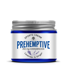 Natural Pain Relief CBD Cream 250mg/2oz Jar Lavender and Ginger