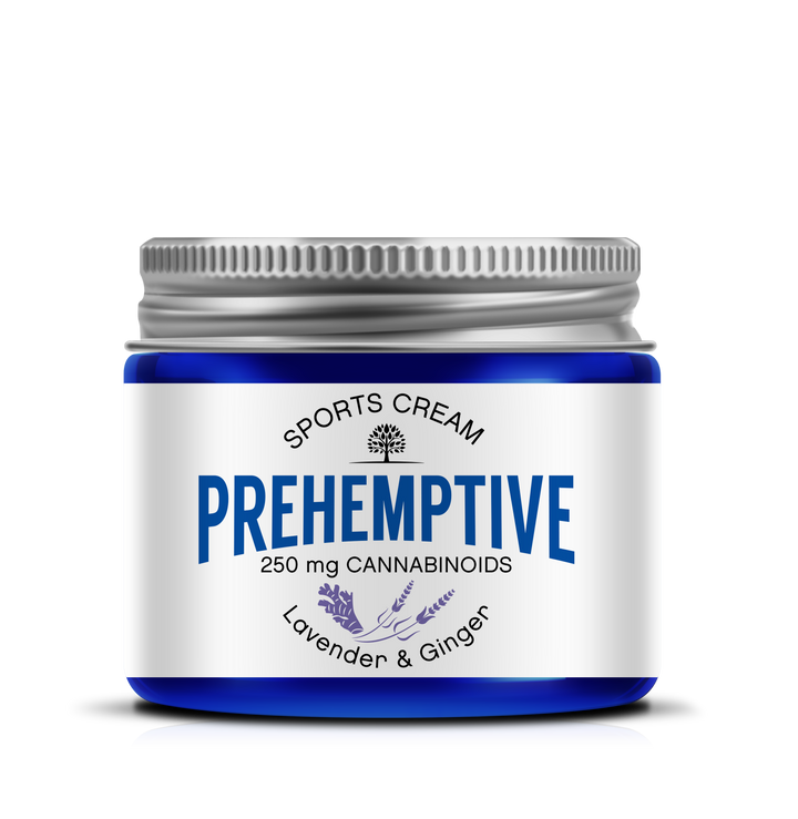 PREHEMPTIVE Lavender and Ginger Sports Cream 250mg - PREHEMPTIVE
