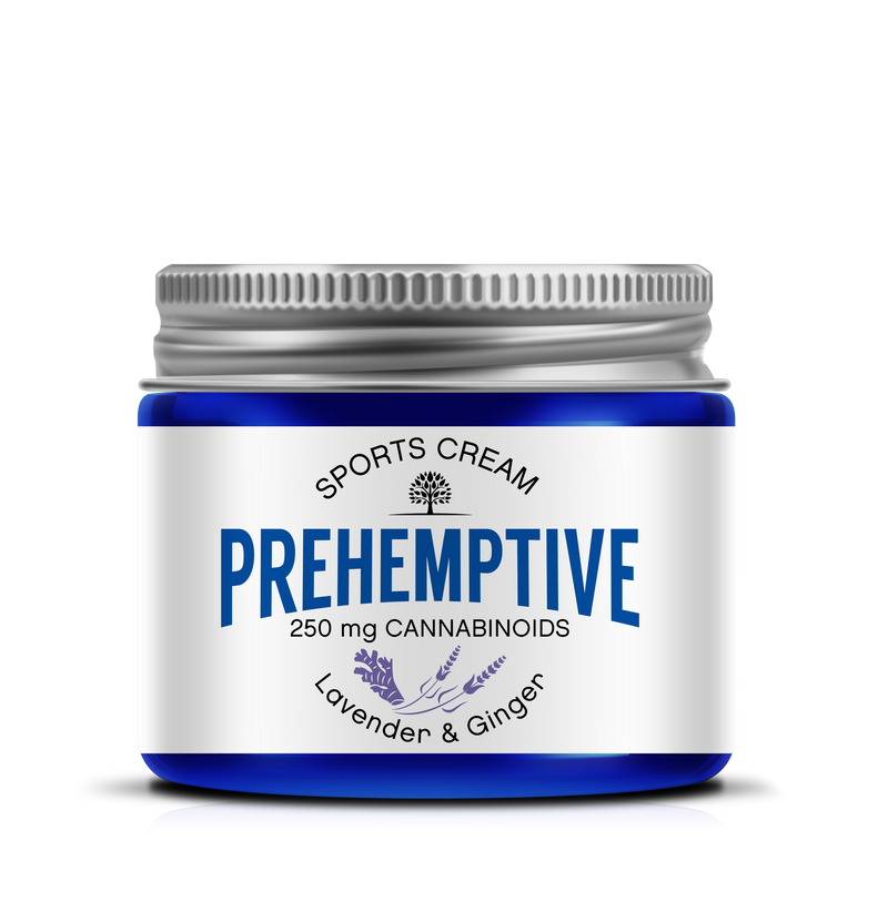PREHEMPTIVE Lavender and Ginger Sports Cream 250mg