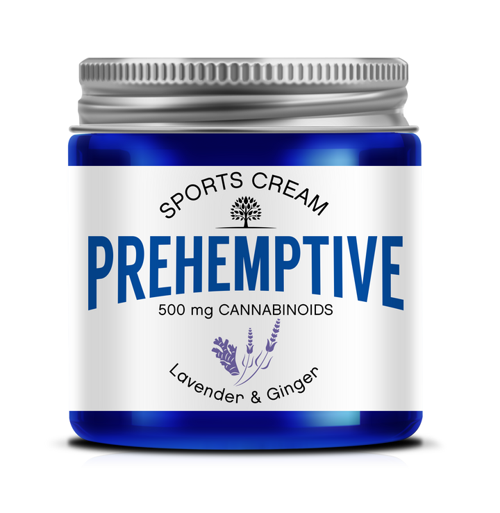 PREHEMPTIVE Lavender and Ginger Sports Cream 500mg - PREHEMPTIVE
