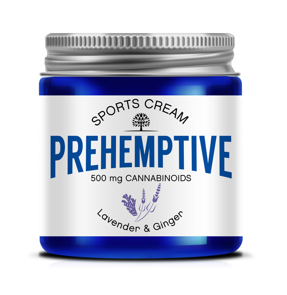 PREHEMPTIVE Lavender and Ginger Sports Cream 500mg