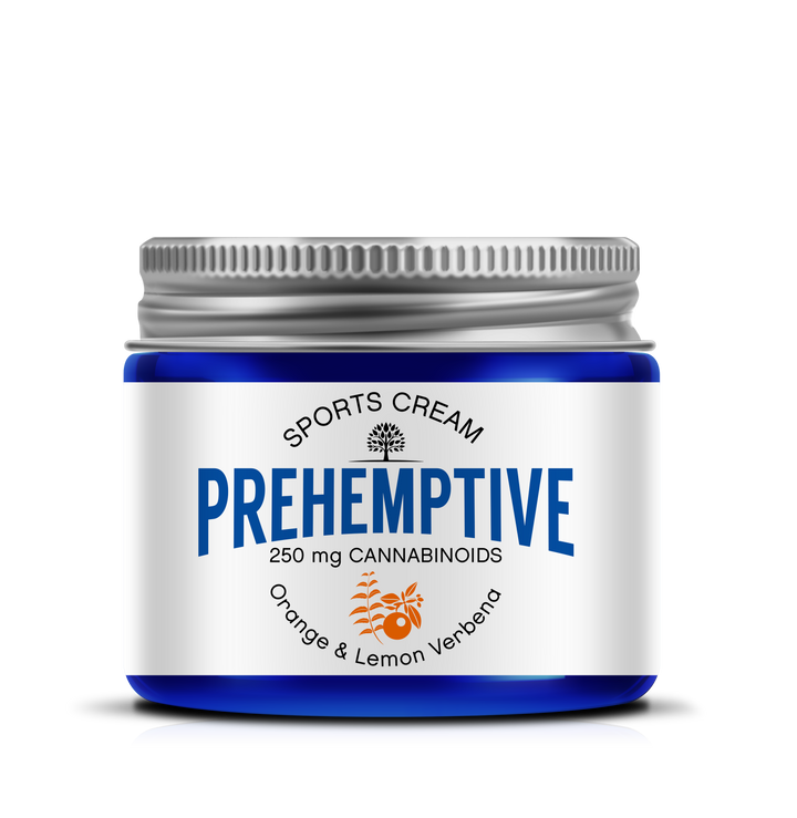 PREHEMPTIVE Orange & Lemon Verbena Sports Cream 250mg