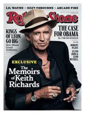 Rolling Stone - October 28 2010 Keith Richards - TnTCollectibles