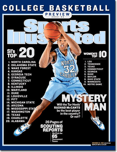 Sports Illustrated Nov 22 2004 NCAA Basketball Preview - TnTCollectibles
