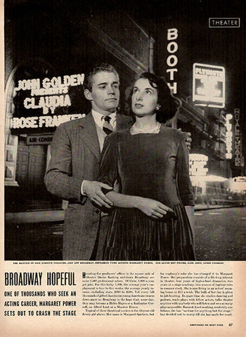 1941 Broadway Hopeful Original Print Ad - TnTCollectibles