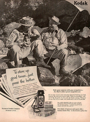 1953 Eastman Kodak Camera Original Photography Print Ad - TnTCollectibles
