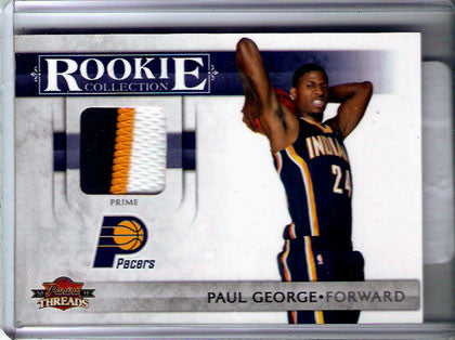 Paul George Indiana Pacers Jersey Multi-color Swatch - TnTCollectibles