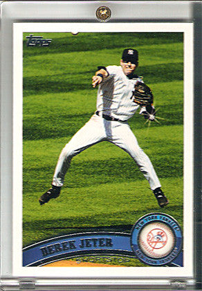 5x World Series Champion 2011 Topps Sparkle Sp Variation 330 Derek Jeter NY Yankees Card - TnTCollectibles