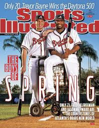 Sports Illustrated Feb 28 2011 Atlanta Braves - TnTCollectibles