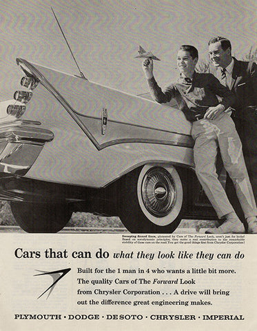 1959 Chrysler Dodge De Soto New 1959 Original Car and Truck Print Ad