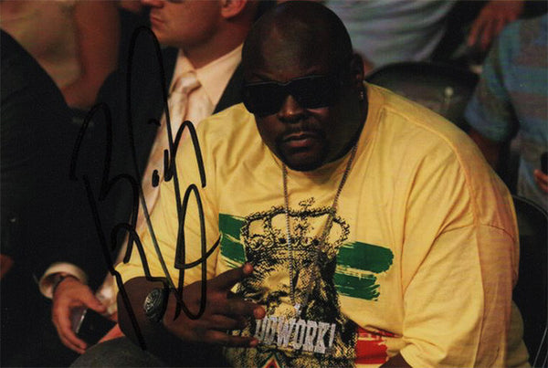 "MTV Star Christopher ""Big Black"" Boykin Autographed Hand Signed Photo - TnTCollectibles"