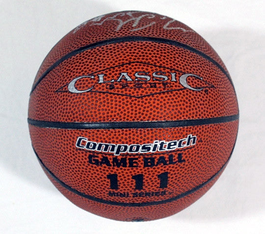 NBA Collectible Mike Bibby and Michael Dickerson Dual Autographed Signed Mini Basketball - TnTCollectibles - 2
