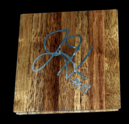 James Harden Autographed Oklahoma City Thunder Floorboard - TnTCollectibles