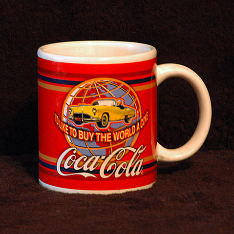 Collectible Coca-Cola I'd Like To Buy The World a Coke Coffee Mug - TnTCollectibles