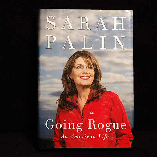 Historical Political Collectible Sarah Palin Autograph Hand Signed Going Rogue Book - TnTCollectibles - 2