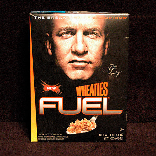 Collectible Retired Limited Edition Peyton Manning Wheaties Fuel Cereal Unopened - TnTCollectibles