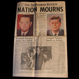 President John F Kennedy JFK Assassination Newspaper Nov. 22, 1963 - 2 - TnTCollectibles - 1
