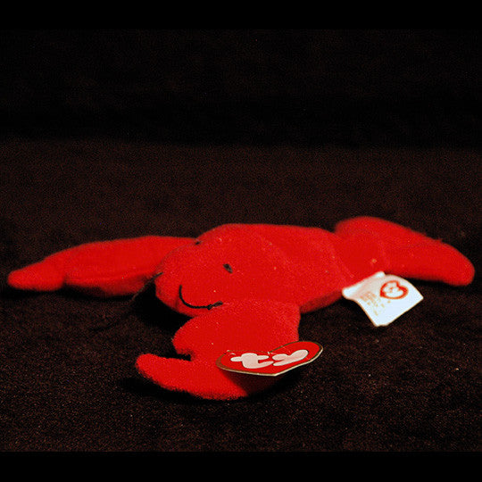 Ty Pinchers the Lobster Beanie with tag protector - TnTCollectibles