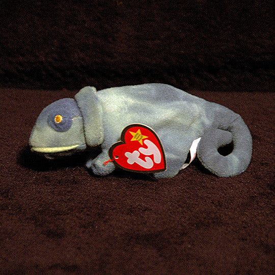 Ty Iggy the Iguana Beanie with tag protector - TnTCollectibles