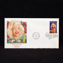 FDC First day of issue Marilyn Monroe Stamp The Final Days Postmarked June 1, 1995 - TnTCollectibles