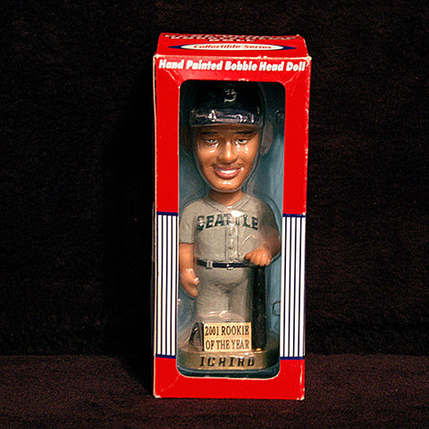 Collectible Memorabilia Ichiro Rookie of the Year Seattle Mariners Bobblehead - TnTCollectibles