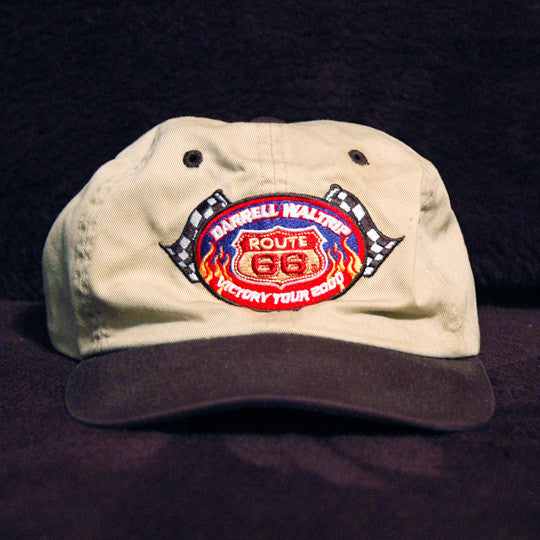 Darrell Waltrip Route 66 Victory Tour 2000 Embroidered Cap - TnTCollectibles