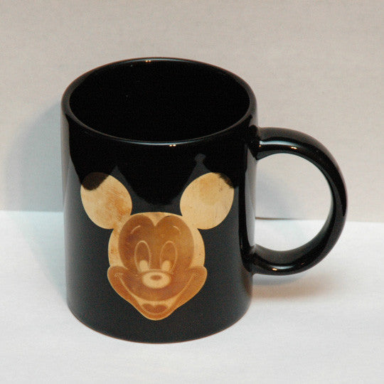 Walt Disney Mickey Mouse Gold Logo Coffee Mug - TnTCollectibles