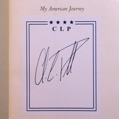 General Colin Powell Autograph Hand Signed Book - TnTCollectibles - 1