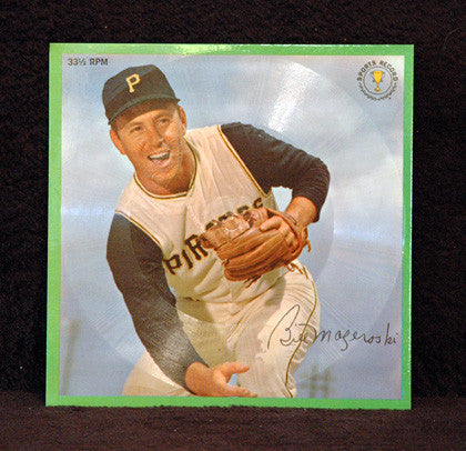 Rare 1962 Bill Mazeroski Collectible Sports Record NM-M - TnTCollectibles