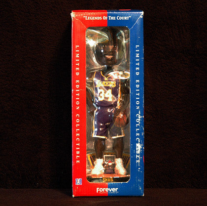 Rare Collectible Legends Of The Court Shaquille O'Neal Bobble Head LOW Number - TnTCollectibles