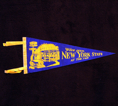 Mid 60's New York State Fair Felt Pennant - TnTCollectibles
